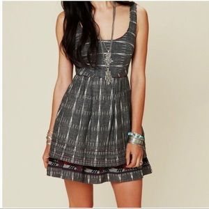 Free People New Romantics Ikat Folk Sundress Sz 2